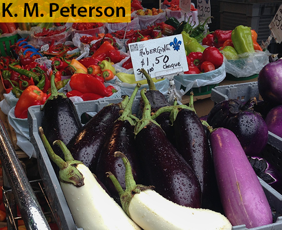 Farmer's Market Jean Talon, Montreal,October
