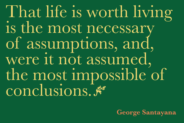 Quotation by George Santayana